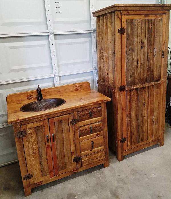Ý tưởng bài trí phòng tắm cho những bạn đam mê phong cách Rustic