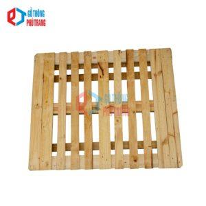 pallet gỗ thông 110cm x 130cm nâng 4 chiều