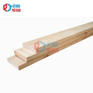 gỗ thông nhập khẩu 25mm x 100mm