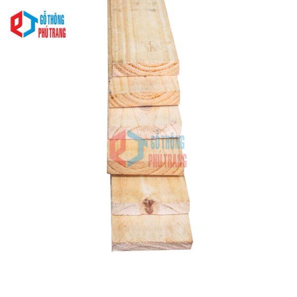 gỗ thông nhập khẩu 18mm x 80mm