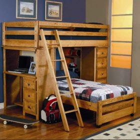 Giường tầng cho bé trai năng động và bé thích tìm hiểu thông tin, cần ơi học riêng