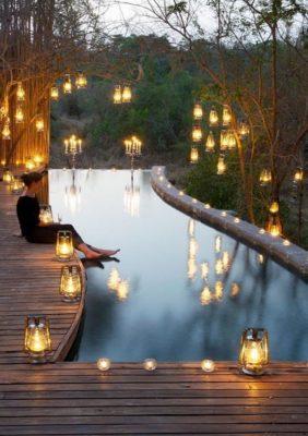 Ý tưởng trang trí không gian hồ bơi ngoài trời độc đáo - có thể dùng cho gia đình hay resort cao cấp đều ấn tượng