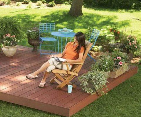 Nếu bạn muốn hòa mình vào thiên nhiên và cần một nơi sạch sẽ, dễ vệ sinh để thư giãn thì đừng bỏ qua thiết kế này