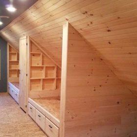 Tạo không gian riêng tư cho từng khu vực ngủ với không gian chung, nhiều người sử dụng
