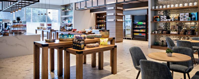 bàn ghế gỗ thông cho quán cafe