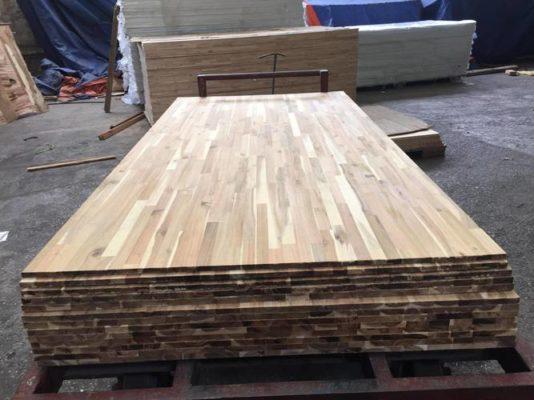 gỗ keo ghép thanh