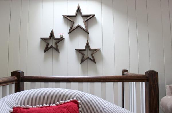 Ngôi sao gỗ trang trí